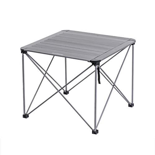 Tragbarer Tisch für draußen, ultra-klein, zusammenklappbar, Picknick, Grill,...