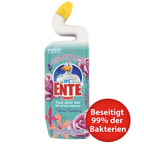 WC-Ente Total Aktiv Gel Floral Fantasy, Bunt, 750 ml