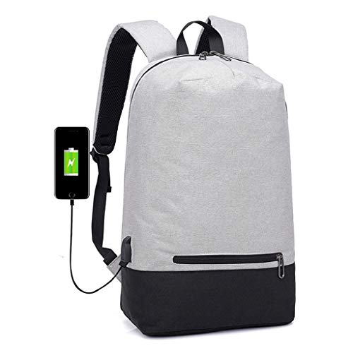 Business Laptop Rucksack Water Resistant Anti-Theft College Rucksack Mit USB...