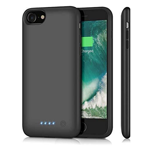 Akku Hülle für iPhone 7/8/6/6s/SE 2020, 6000mAh Große Kapazität Battery Case...