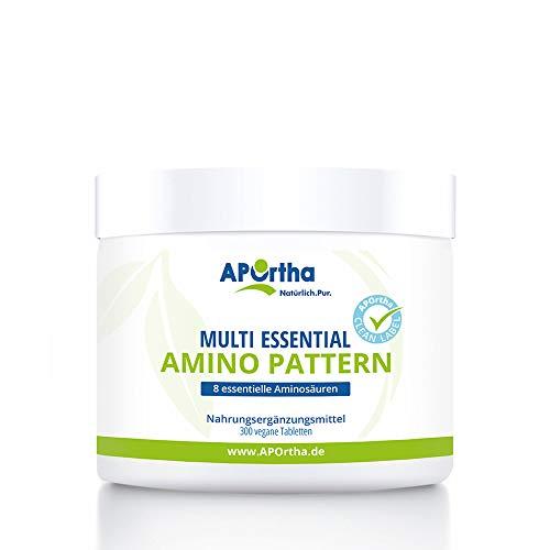 APOrtha Multi essential Amino Pattern I 300 Tabletten mit 8 essentiellen...