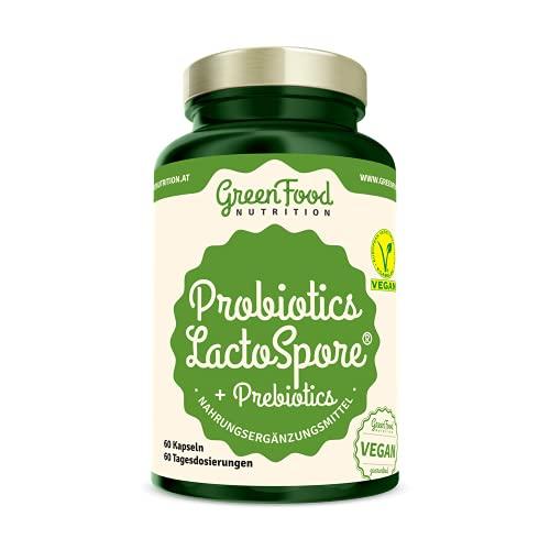 Probiotika LactoSpore® + Prebiotics 60 Kapseln GreenFood Nutrition