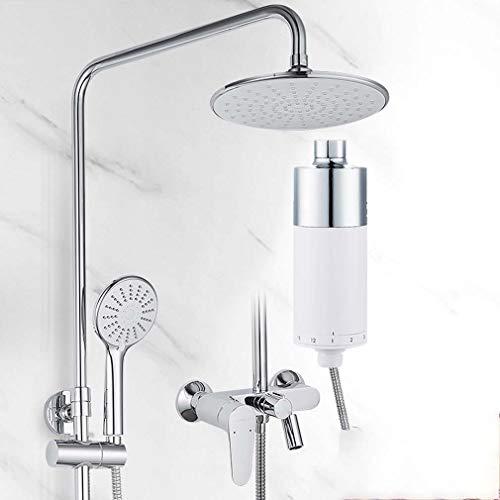 YDYG Dusche Mischsystem, 3-Funktion Silica Gel Entkalken Dusche, mit Regendusche...