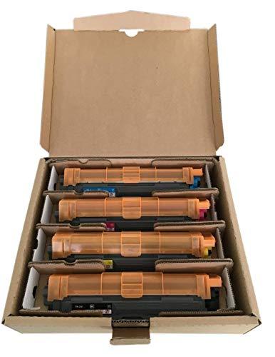 Original Brother Toner Set (TN-242BK TN-242C TN-242M TN-242Y) für Brother...