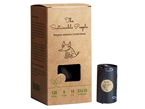 TSP Bio-abbaubare Hundekotbeutel - OK compost HOME zertifiziert - 100%...