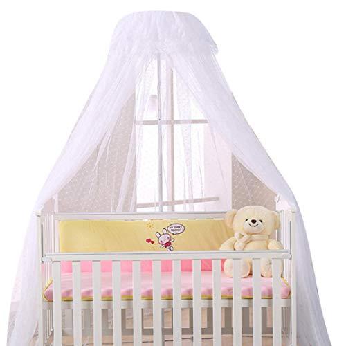 MJL Betthimmel für Babybett, Baby Moskitoschutz für Kinderbetten, Babybett...