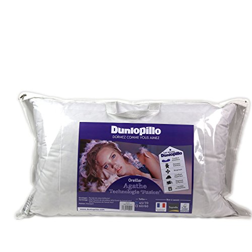Dunlopillo ORFGDN045070DPO2 Fusion Kissen, 45 x 70 cm, Weiß
