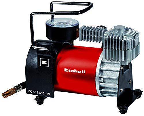 Einhell Auto Kompressor CC-AC 35/10 12 V (0-10 bar Druckmanometer, 35 Liter pro...