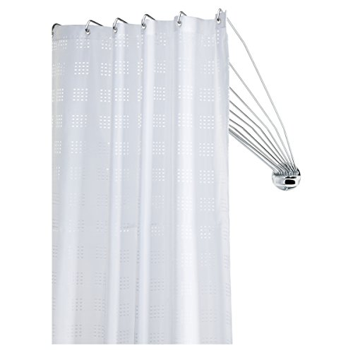Sealskin Duschvorhangstange Umbrella - die flexible Duschfaltkabine,...