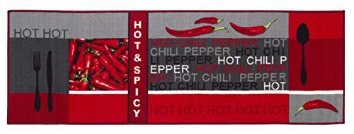 andiamo Teppichläufer Küchenläufer Chilidesign Chililäufer Küchenteppich...