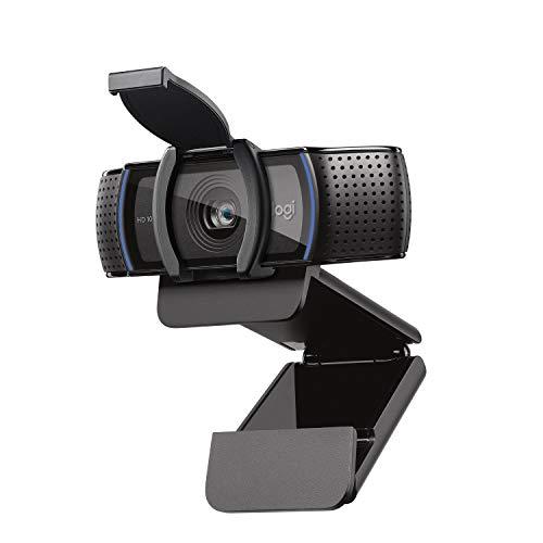 Logitech C920s HD PRO Webcam, Full-HD 1080p, 78° Blickfeld, Autofokus,...