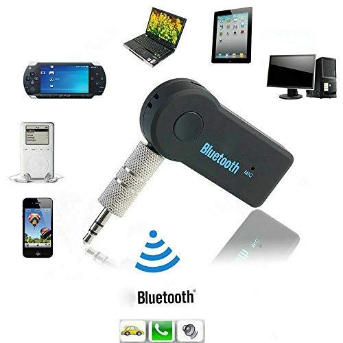 N4U Online Kabelloser Bluetooth 3,5 mm Handy auf AUX Autoradio Musik-Receiver...