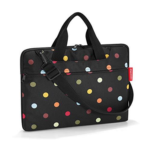 Reisenthel netbookbag Laptop Rollkoffer, 40 cm, 5 Liter, Dots