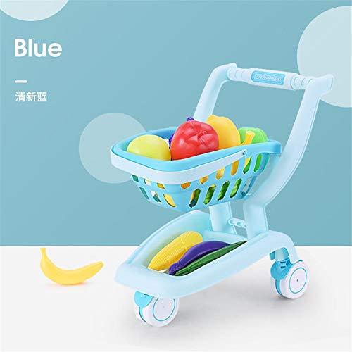 mbition 13PCS Kinder Trolley Einkaufswagen Spielzeug Mini Küche Rollenspiel...