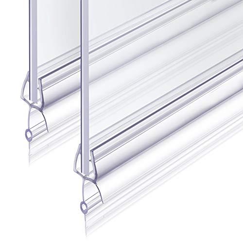 2x100cm Duschdichtung Revspoir Passen Perfekt 6 mm Dichtung Dusche Glastür...