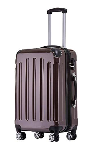 BEIBYE Zwillingsrollen 2048 Hartschale Trolley Koffer Reisekoffer Taschen...