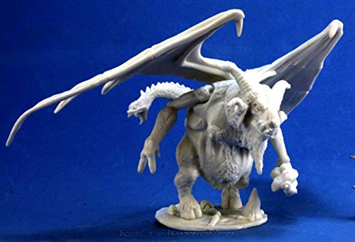 Pechetruite 1 x Orcus Demon Lord of The Undead - Reaper Bones Miniature zum...