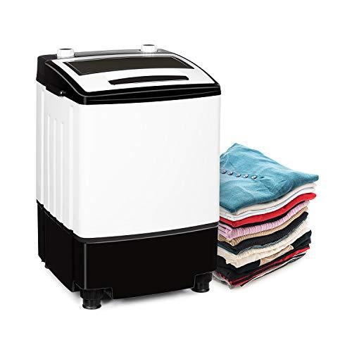 Klarstein Bubble Boost Waschmaschine, Leistung: 380 Watt, Waschen: 3,5kg,...