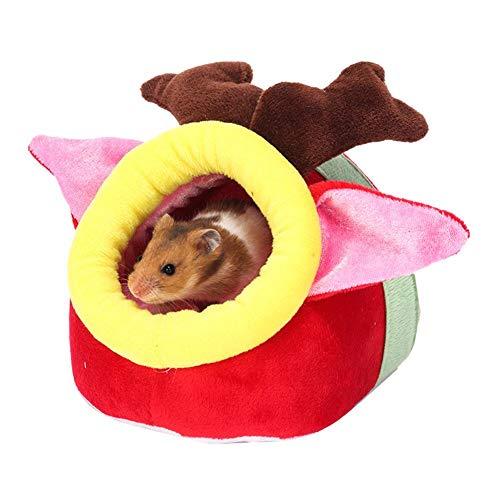 wendaby Meerschweinchen Zubehoer Hamster Baumwollnest Kleines Haustier Warmes...