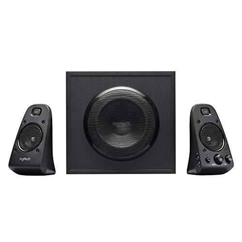 Logitech Z623 Lautsprecher-System mit Subwoofer, Satter Bass, 400 Watt...