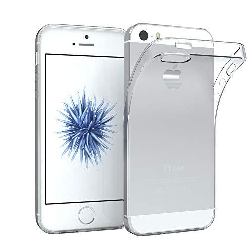 EAZY CASE Hülle für Apple iPhone 5 / 5S / SE Schutzhülle Silikon, Ultra dünn...
