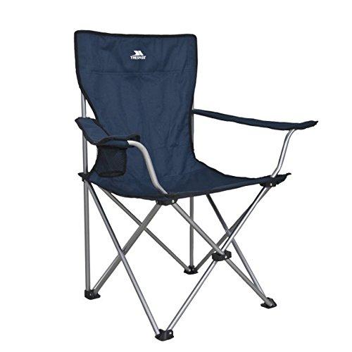 Trespass Settle Camping-Stuhl mit Tragetasche, faltbar (Einheitsgröße)...