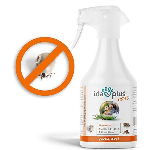 Ida Plus – Zeckenfrei 500 ml – Zeckenspray gegen Zecken, Mücken, Flöhen,...