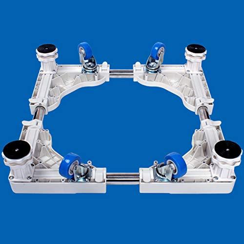 Mfnyp Waschmaschine Sockel Kühlschrank Basis, Und 4 Verstellbare Stützbeine...