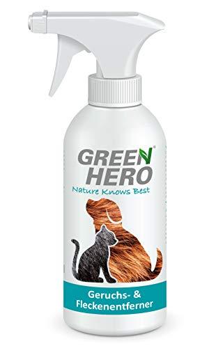 Green Hero Geruchsentferner und Fleckenentferner gegen Tiergerüche Biologischer...
