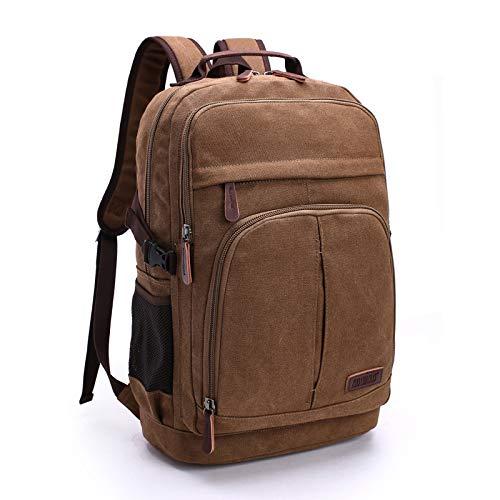 Multifonction Grand sac de Toile capacit¨¦ sac ¨¤ DOS Pour ordinateur...