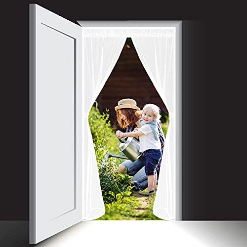 WEIZON Magnet Fliegengitter Balkontür,für balkontür Wohnzimmer, klebemontage...
