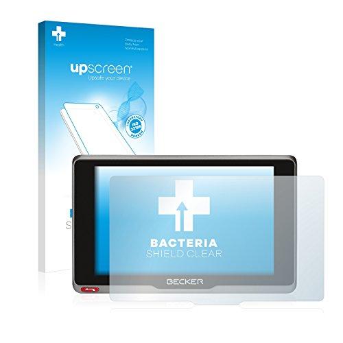 upscreen Antibakterielle Schutzfolie kompatibel mit Becker Active.7sl EU klare...