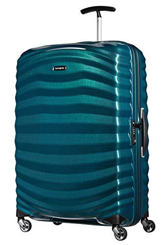 Samsonite Lite-Shock - Spinner L Koffer, 75 cm, 98.5 L, Blau (Petrol Blue)