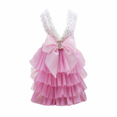 MagiDeal Koreanischen Stil Hund Katze Hundekleid Brautkleid Kleid Party Kostüm...