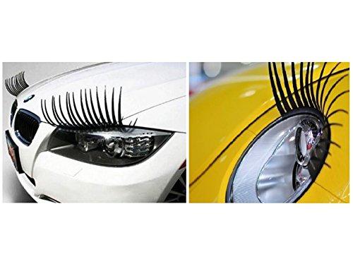 etie DS LUSTIGE WIMPERN für Auto Scheinwerfer UNIVERSAL