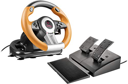 Speedlink DRIFT O.Z. Racing Wheel, USB Gaming Lenkrad für PC / Computer mit...