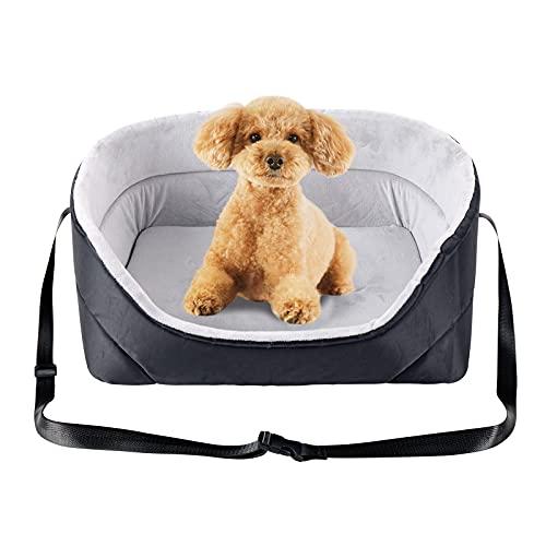 JuneJour Hunde Autositz Hundebett Autositz Bett für Hunde Katzen Universal...