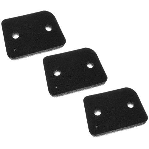 vhbw 3x Filter (Sockelfilter) passend für Miele TMG600-40, TMG640WP, TMG800-40,...