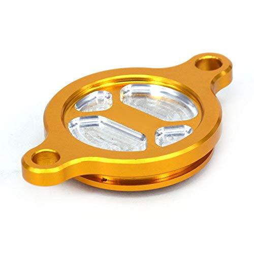 TONGDAUR Motoröl Stöpsel Filter Abdeckkappe für S-U-Z-U-K-I RMZ250 RMZ 250...