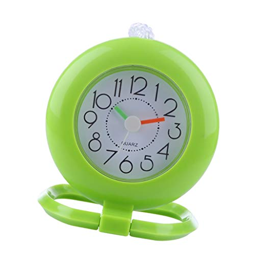 CUTICATE Badezimmer Uhr Wasserfest Baduhr Duschuhr mit Saugnapf - Grün