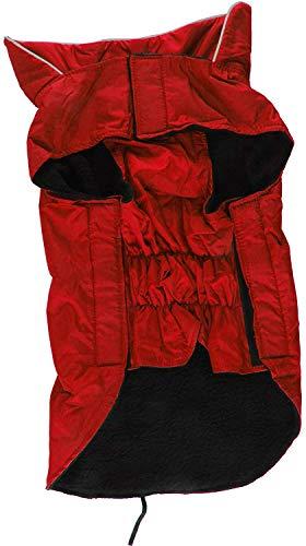 Haustier-Hundewasserdichtes Regen Mäntel Außen Regen Jacken S Red ZTJ (Color :...