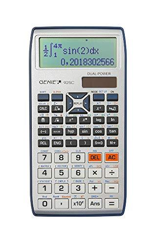 Genie 92SC wissenschaftlicher Taschenrechner/Schulrechner mit 580 Funktionen,...