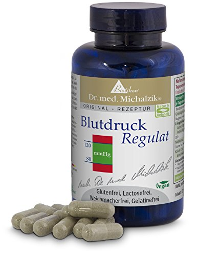Blutdruck Regulat nach Dr. med. Michalzik - ohne Zusatzstoffe - von BIOTIKON®