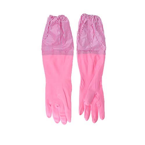 LOVIVER Handschuhe Kitchen Gloves Latexhandschuhe Waschhandschuhe...
