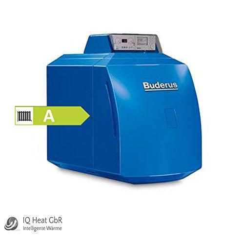 Buderus Öl Brennwertkessel GB 125 22KW mit Blaubrenner