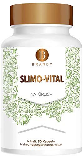 Brandy | Slimo-Vital | DAY AND NIGHT | Stoffwechsel | Natürlich | 60 Kapseln -...