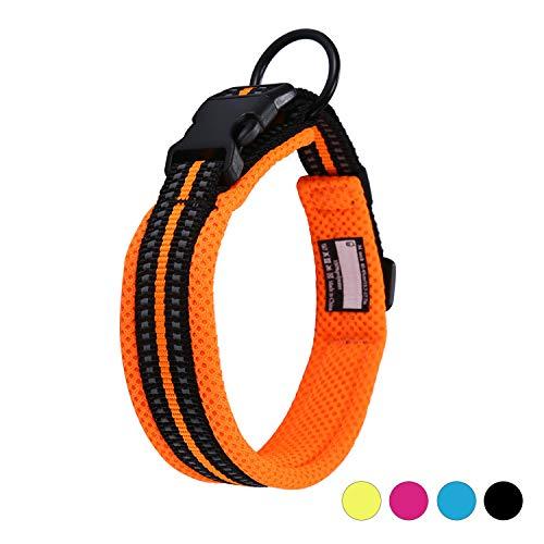 Kaka Mall Hundehalsband Verstellbare Nylon Hunde Halsband Atmungsaktives 3M...