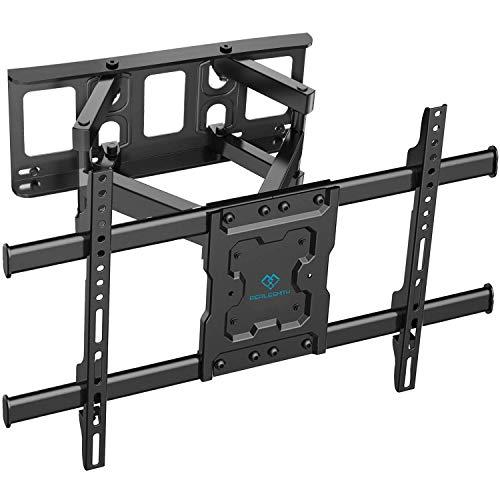 TV Wandhalterung Schwenkbar Neigbar max.VESA 600x400mm für 37-70zoll Flach &...