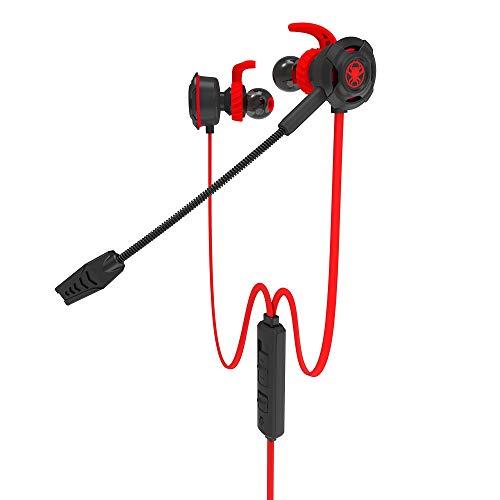 Headset 3,5-mm-PC-Spiel-Kopfhörer Computer-Kopfhörer In-Ear-Stereo-Bass...