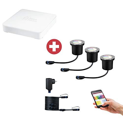 Paulmann Smarte Gartenbeleuchtung ZigBee Steuerung via Smartphone 94275 Plug &...